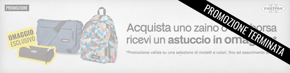 nuova collezione f037b 70fc2 Promozione Eastpak: acquista uno zaino o una borsa, ricevi ...